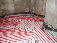 Installazione impianti a pavimento